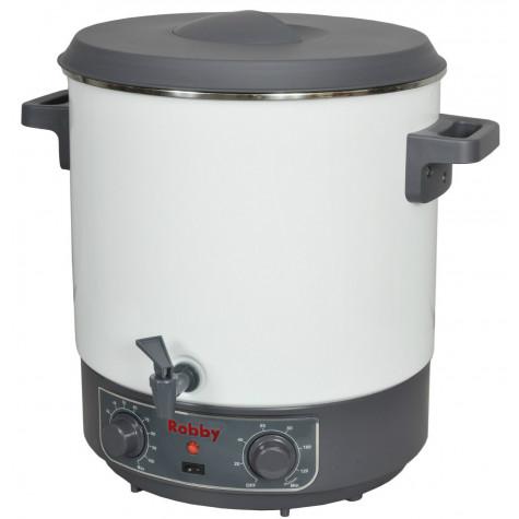 robby Stérilisateur électrique avec robinet et minuteur 28l 1800w robby