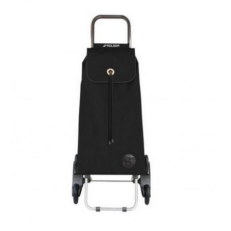 rolser Poussette de marché 6 roues 43l noir rolser