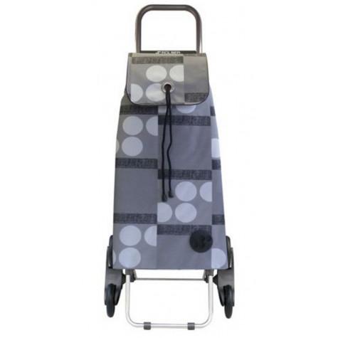 rolser Poussette de marché 6 roues 59l gris rolser