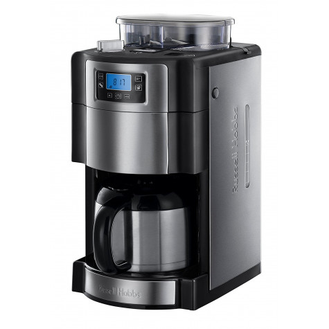 russell hobbs Cafetière isotherme avec broyeur intégré programmable 10 tasses 1000w russell hobbs