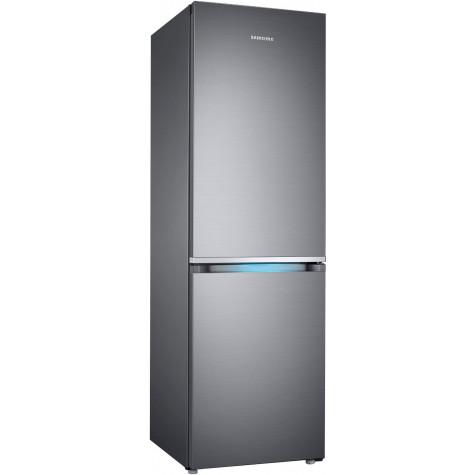 samsung Réfrigérateur combiné 60cm 382l a++ nofrost inox samsung