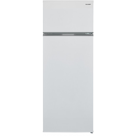 sharp Réfrigérateur 2 portes 54cm 227l a+ statique blanc sharp
