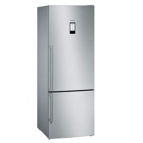 siemens Réfrigérateur-surgélateur 70 cm 480l a+++ nofrost argent siemens