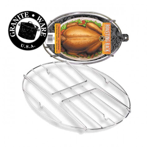 warmcook Grille en acier nickelé pour cocotte 33cm warmcook