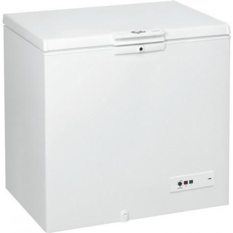 whirlpool Congélateur coffre 118cm 311l a++ blanc whirlpool