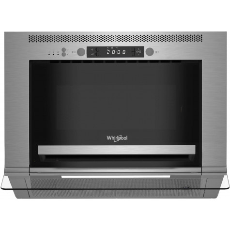 whirlpool Micro-ondes hotte encastrable 22l 750w inox whirlpool