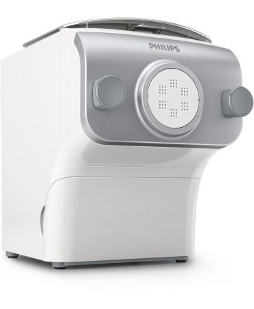 Machine à pâtes et nouilles 200w argent/blanc