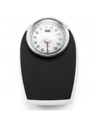 ade Pèse-personne mécanique 136kg 1kg noir ade