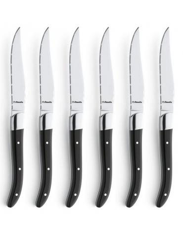 amefa Coffret de 6 couteaux à steak amefa