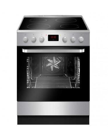 Cuisinière induction a 65l 4 feux inox