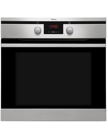 amica Four encastrable multifonction 65l 60cm a pyrolyse inox amica