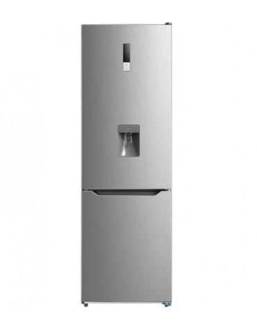 Réfrigérateur combiné 60cm 295l a+ no frost inox