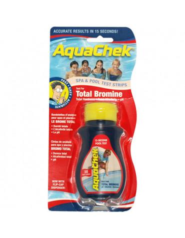 aquachek 50 bandelettes test pour brome aquachek