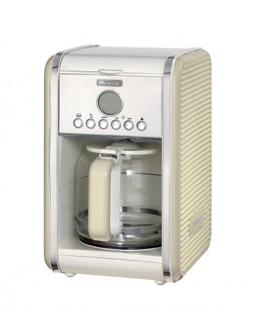 ariete Cafetière programmable 12 tasses 2000w beige ariete
