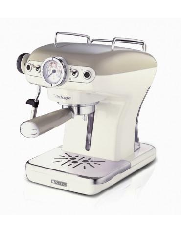 ariete Machine à espresso 15 bars beige ariete