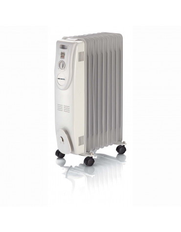 Radiateur à bain d'huile 2000w blanc