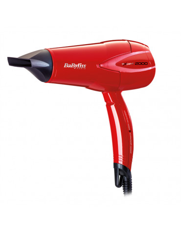 babyliss Sèche-cheveux 2000w rouge babyliss