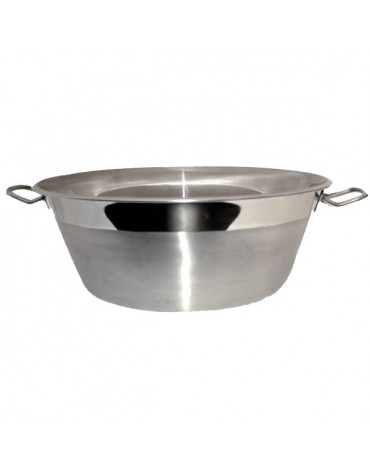 Bassine à confiture inox 9l