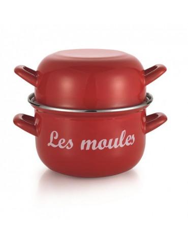 baumalu Marmite à moules 18cm rouge baumalu