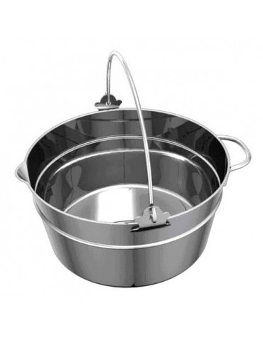 Bassine à confiture inox 10.45l