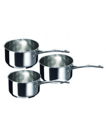 beka Série 3 casseroles 16-18-20 cm en inox beka
