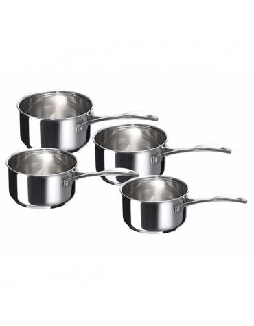 beka Série de 4 casseroles inox 14/16/18/20cm beka