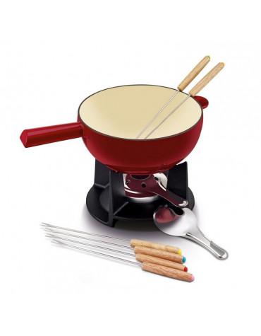 beka Service à fondue 6 fourchettes fonte beka