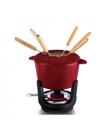 beka Service à fondue en fonte émaillée 6 fourchettes beka
