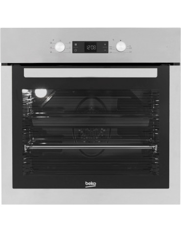 beko Four encastrable multifonction 71l 59cm a catalyse inox beko