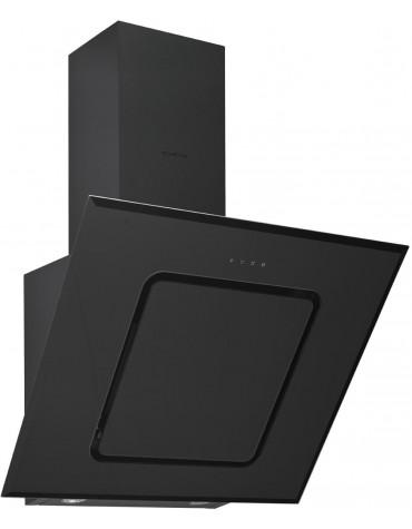beko Hotte décorative inclinée 90cm 577m3/h noir beko