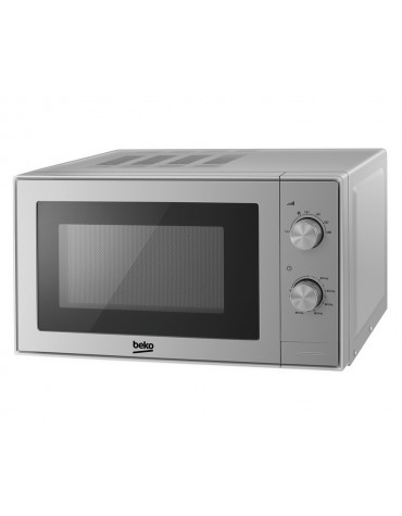 beko Micro-ondes solo 20l 700w silver beko