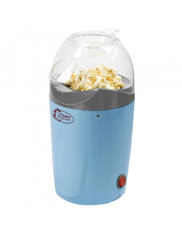 Appareil à pop-corn 1200w bleu