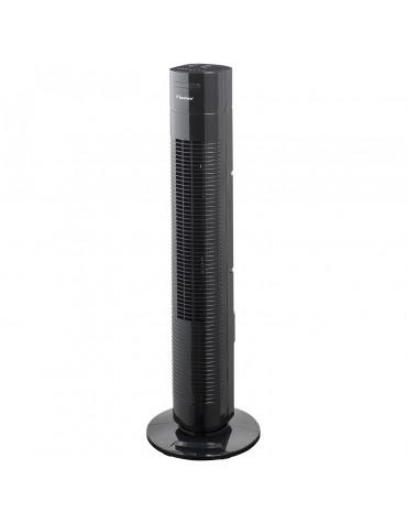 Ventilateur colonne 35w 3 vitesses noir