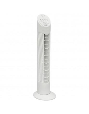 bestron Ventilateur colonne 75cm 50w 3 vitesses blanc bestron