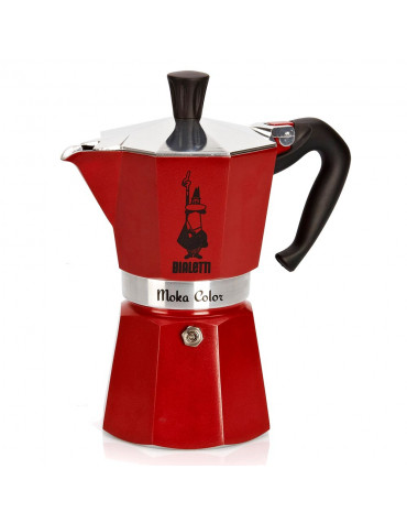 bialetti Cafetière italienne 6 tasses rouge bialetti