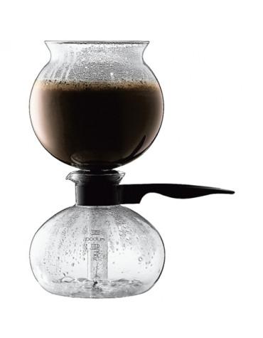 Cafetière à dépression 8 tasses 1l verre