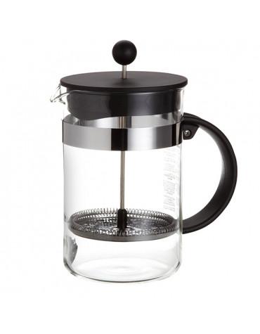 Cafetière à piston 12 tasses 1.5l noir