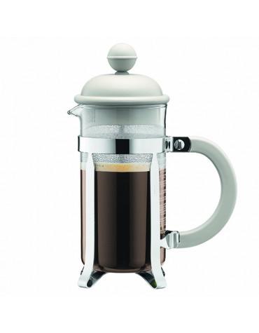 Cafetière à piston 3 tasses 0,35l blanc