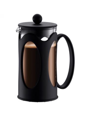 Cafetière à piston 3 tasses 0,35l noir
