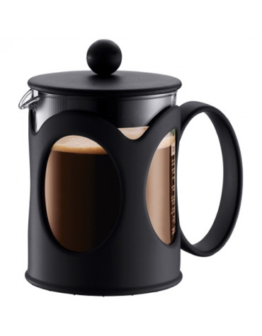 Cafetière à piston 4 tasses 0,5l noir