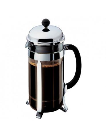 Cafetière à piston 8 tasses 1l