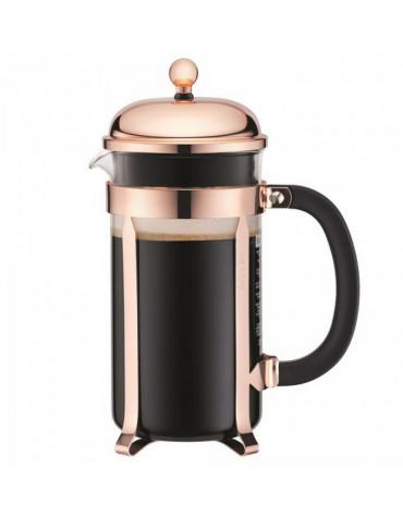 Cafetière à piston 8 tasses 1l cuivre