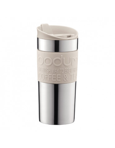 bodum Mug de voyage 35cl blanc crème bodum