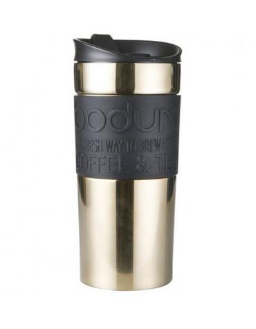 bodum Mug de voyage 35cl or/noir bodum