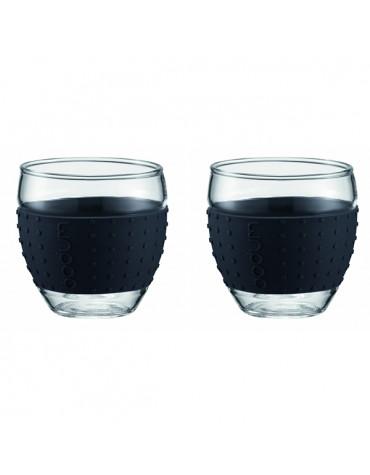 bodum Set de 2 tasses à café 10cl noir bodum
