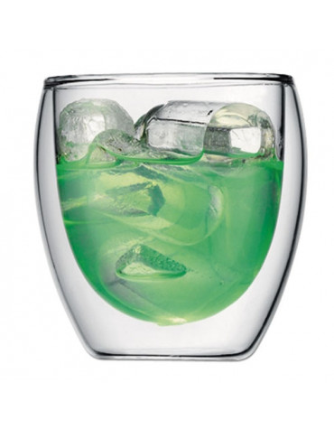bodum Set de 2 verres double paroi 25cl bodum