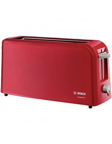 Grille-pains 1 fente 980w rouge