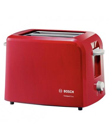 bosch Grille-pains 2 fentes 980w rouge bosch