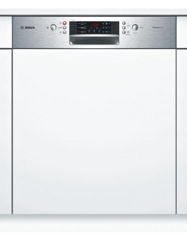 bosch Lave-vaisselle 60cm 12c 46db a+ intégrable avec bandeau inox bosch
