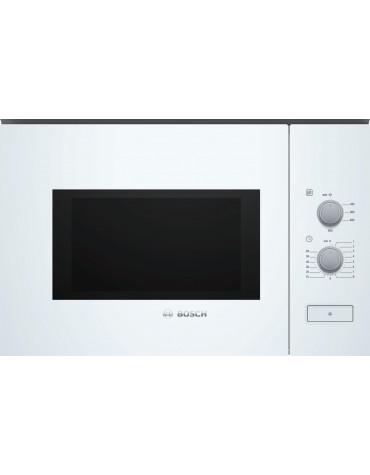 bosch Micro-ondes encastrable 25l 900w blanc bosch